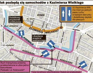 [Wrocław] Ul. Kazimierza Wielkiego (przebudowa) 35421