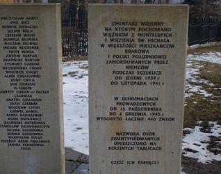 [Kraków] Cmentarz Wojenny, ul. Architektów 507485