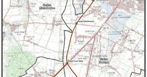 [Raszyn] Obwodnica miasta i droga ekspresowa S8 do Warszawy 36446