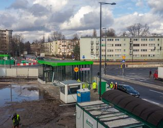 [Warszawa] Budowa II linii Metra - Stacja Księcia Janusza 467295