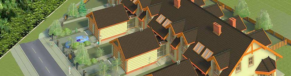[Mokronos Dolny] Osiedle domków jednorodzinnych 26720
