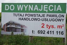 [Kraków] Pawilon handlowy, ul. Półłanki