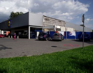 """[Kraków] Supermarket """"Lidl"""", ul. Kocmyrzowska 122723"""