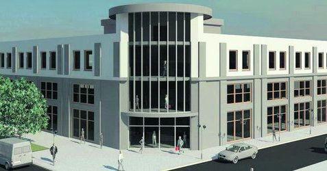 [Lublin] Budynek usługowo-handlowy, ul. Zamojska/Rusałka 44387
