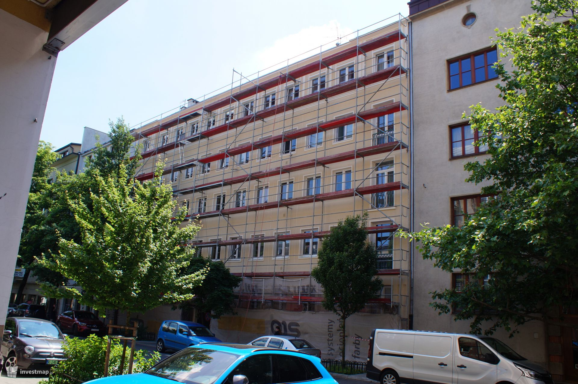 Remont Kamienicy, ul. Krowoderska 64