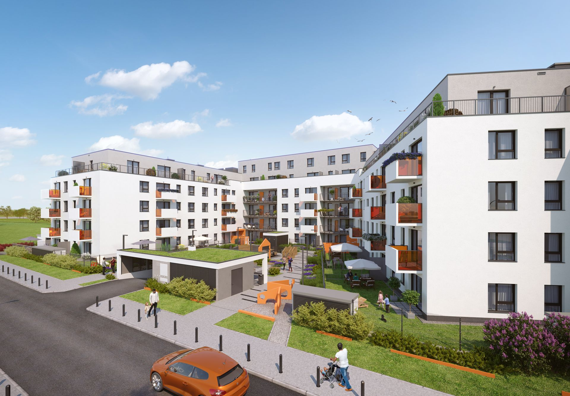 Wrocław: Komedy – Dom Development buduje setki mieszkań na Jagodnie. Zaczyna od budynku z muralem