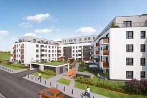 Wrocław: Komedy – Dom Development buduje setki mieszkań na Jagodnie. Zaczyna od budynku z muralem [WIZUALIZACJE]