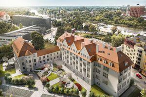 Politechnika Wrocławska remontuje zabytkową klinikę [FILM + ZDJĘCIA + WIZUALIZACJE]