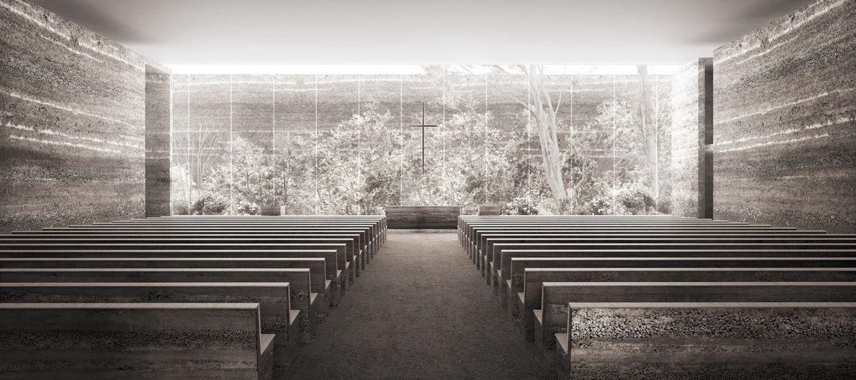 Projekt kościoła na Nowych