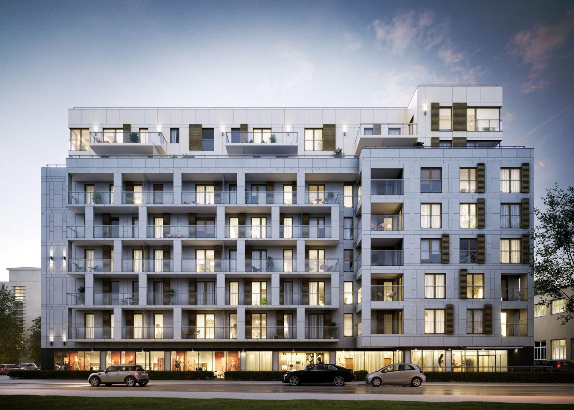 Warszawa: Rezydencja Barska – kameralny apartamentowiec od BPI wznosi się na Ochocie