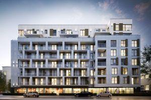 Warszawa: Rezydencja Barska – kameralny apartamentowiec od BPI wznosi się na Ochocie [WIZUALIZACJE]