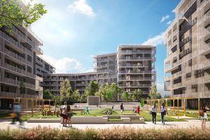 Warszawa: Stacja Wola – Echo buduje ponad tysiąc mieszkań. Stawia na rozwiązania smart [WIZUALIZACJE]