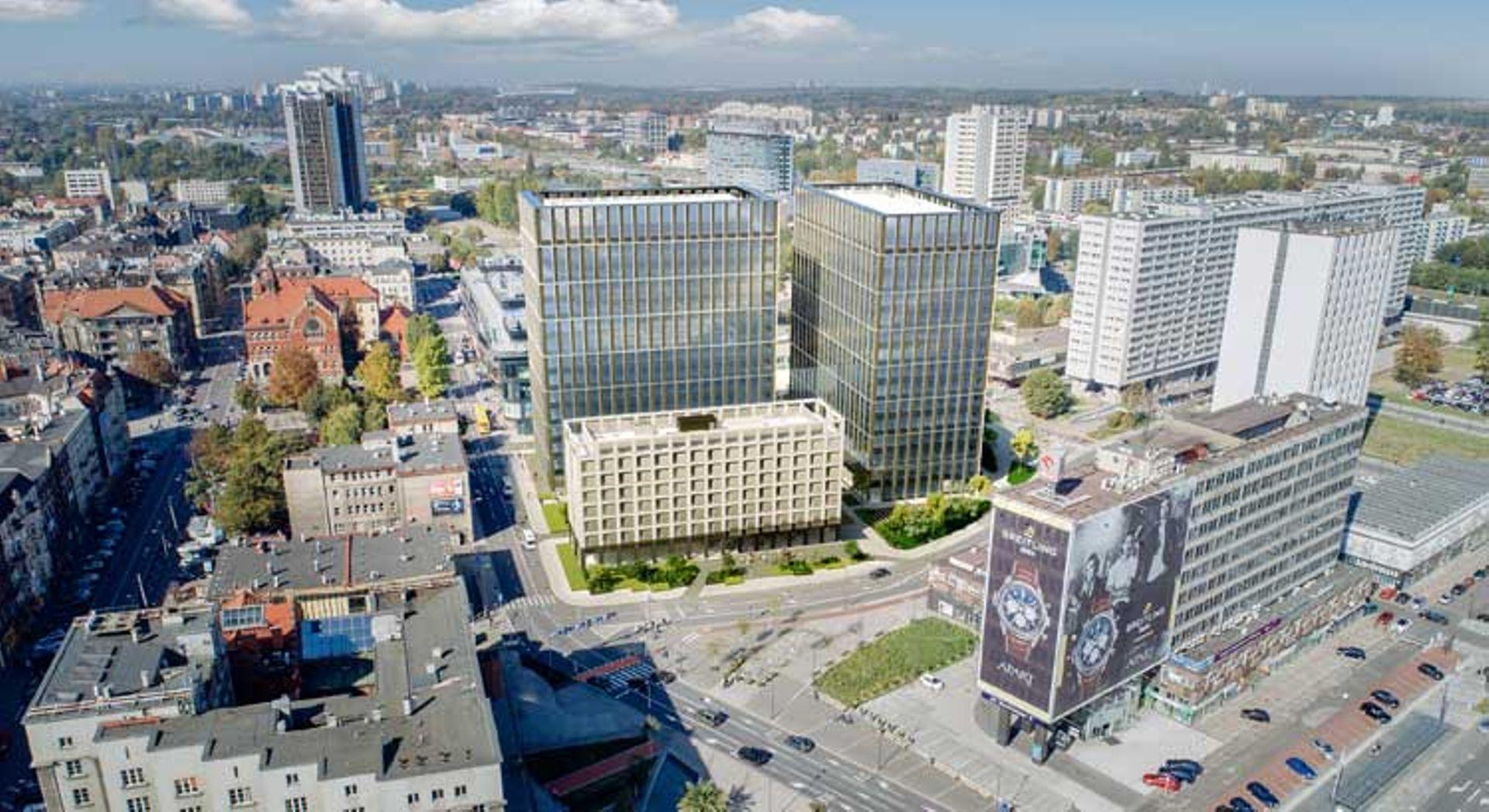 Katowice: Vastint Poland inwestuje w budowę kompleksu biurowo-hotelowego Nova Silesia