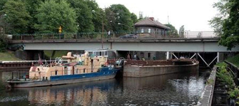 Gliwice: remont mostu w