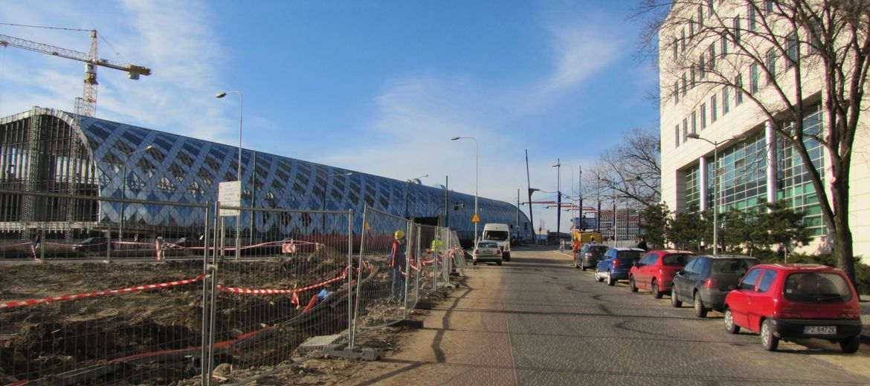 Budowa Poznań City Center
