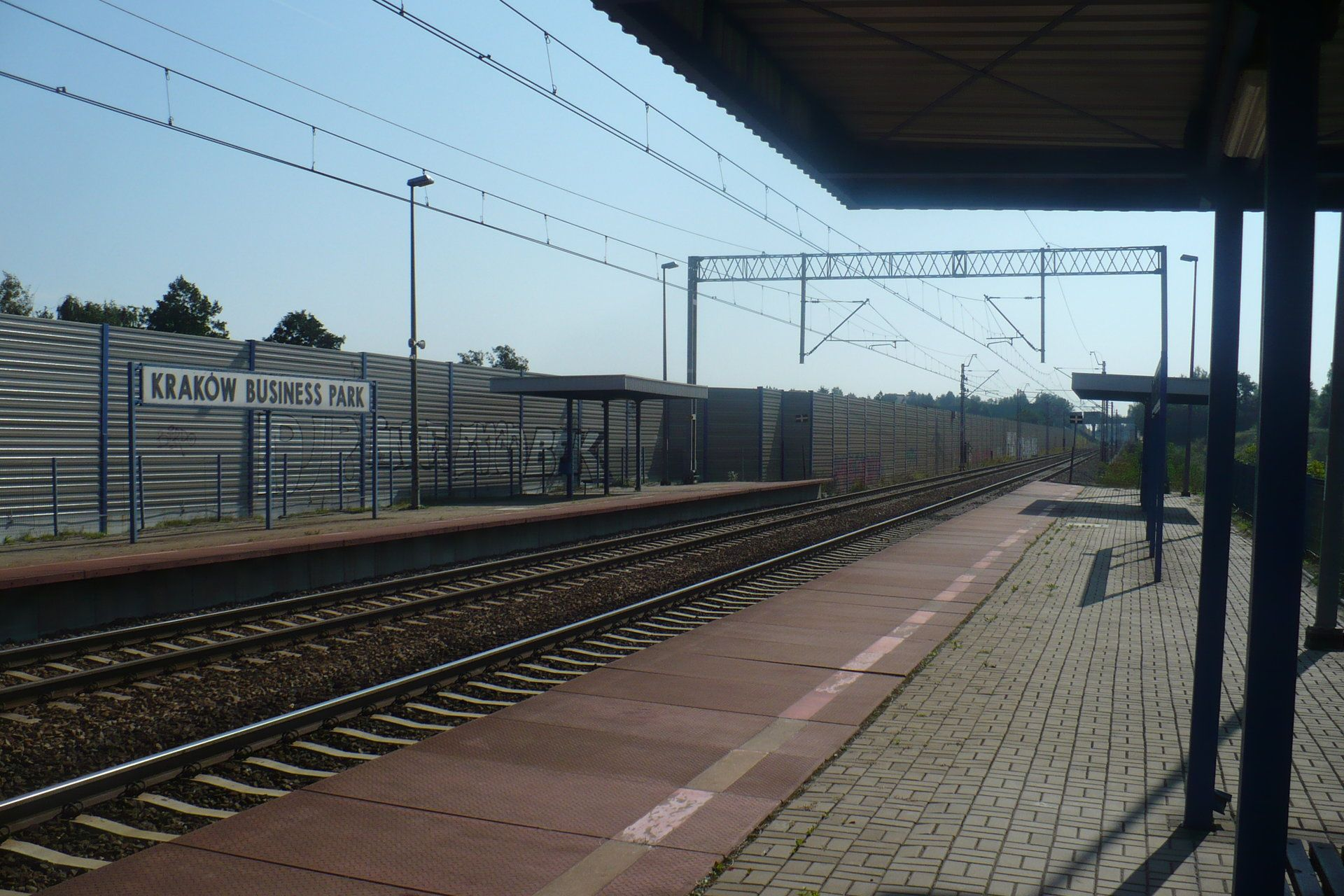 Przystanek kolejowy Kraków Business Park doczeka się przebudowy