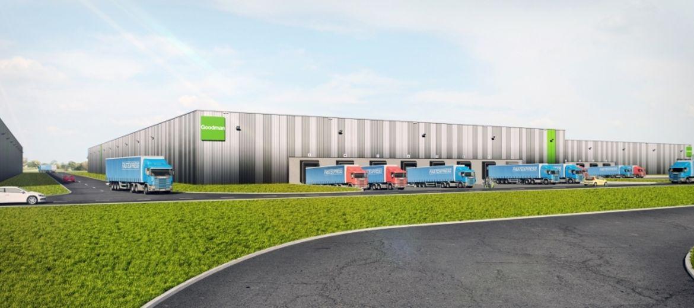 Wizualizacja nowego centrum magazynowego w Magnicach (źródło: materiały inwestora)