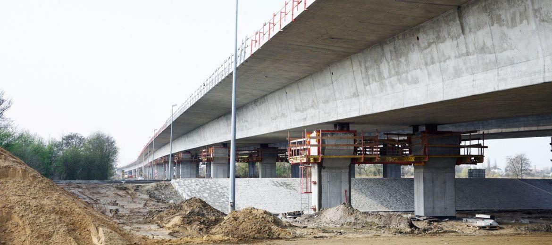 750-metrowy most nad Widawą