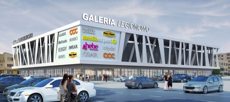"""Realizacja projektu """"Galeria Legionowo"""""""