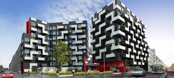 Wrocław: Nowa Manufaktura – IMS zbuduje osiedle w miejsce dawnej fabryki samochodów na Przedmieściu Oławskim [WIZUALIZACJE]
