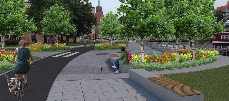 Wrocław: Rewitalizacja bulwaru Słonecznego