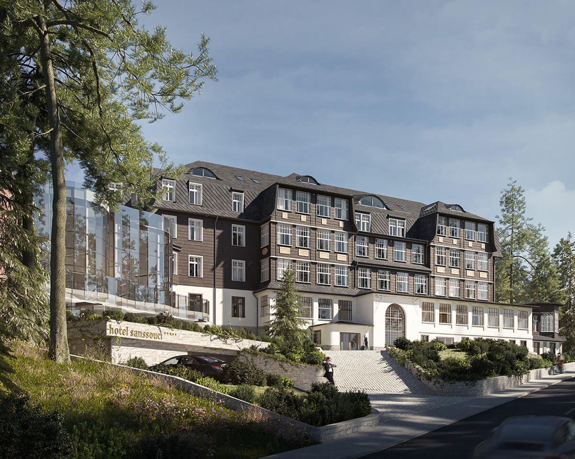 W Karpaczu powstanie 5-gwiazdkowy Hotel Sanssouci