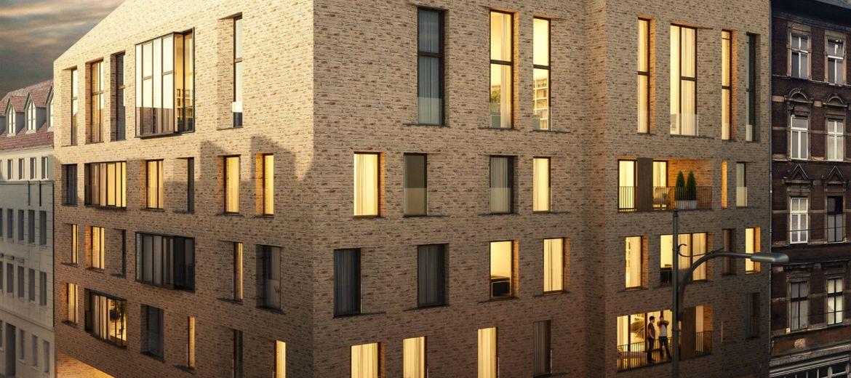 Budowa apartamentowca Za Bramką