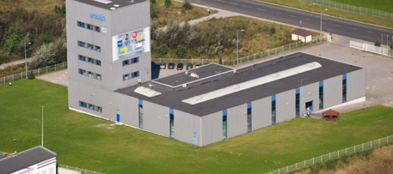 Fabryka UZIN Polska w Legnicy przed rozbudową (Foto: materiały inwestora)