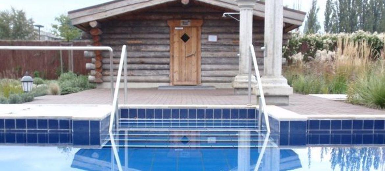 Aquapark: w miejscu sauny,