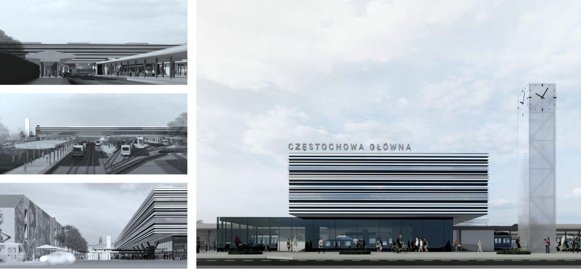 Rozpoczęły się prace projektowe dworca Częstochowa Główna
