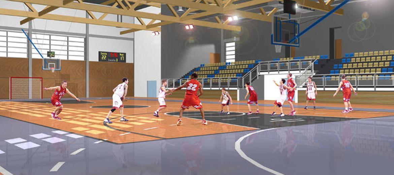 Nowa hala sportowa Politechniki Wrocławskiej, foto: www.pryzmat.pwr.edu.pl
