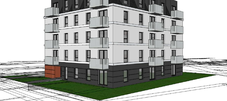Wizualizacja Villa Diamante przy ulicy Maślickiej 165 (źródło: materiały inwestora)