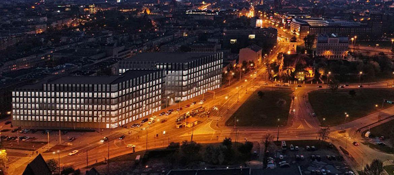 Wrocław: Pierwszy z biurowców