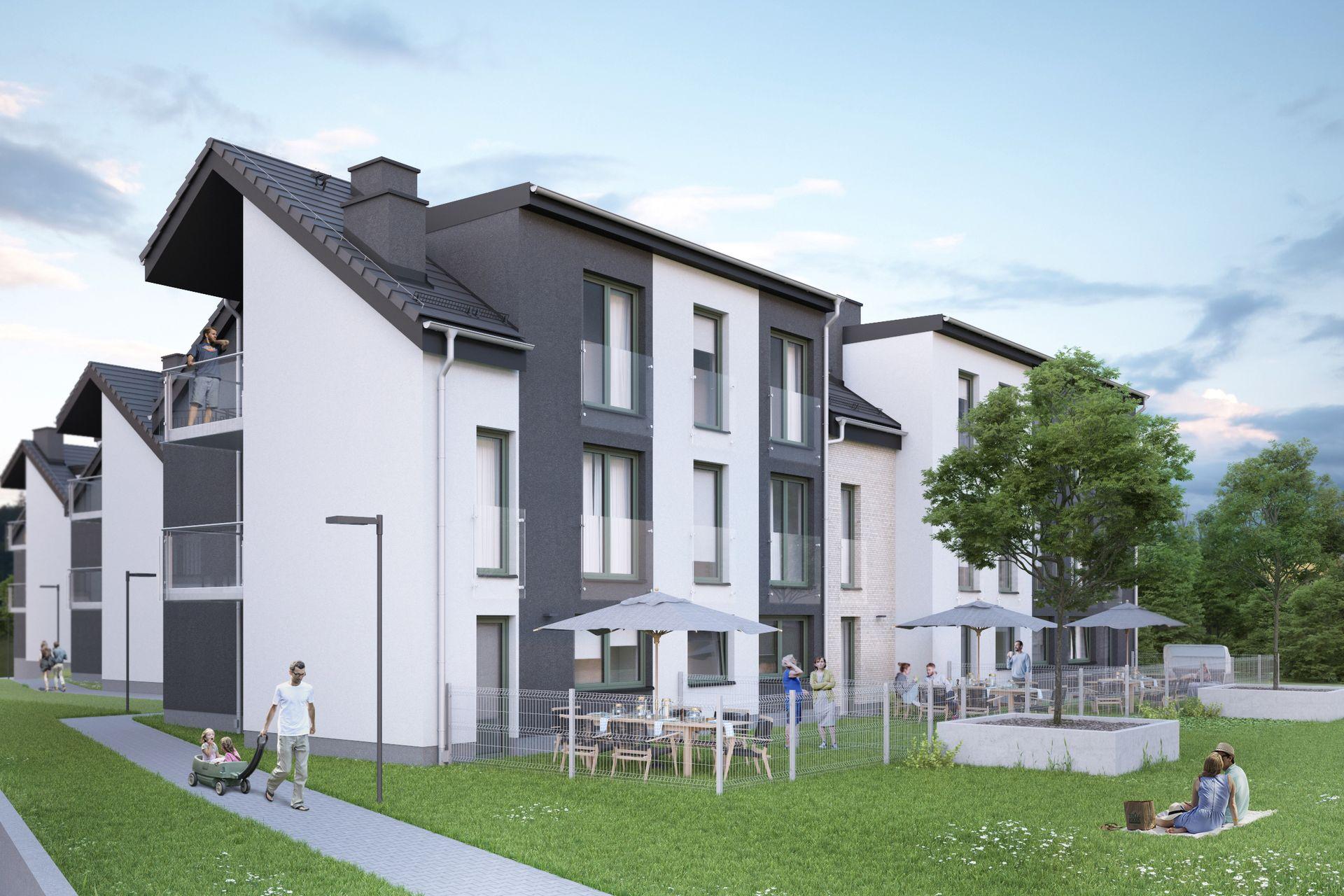 Przy ulicy Opoczyńskiej na Złotnikach już powstaje nowe osiedle