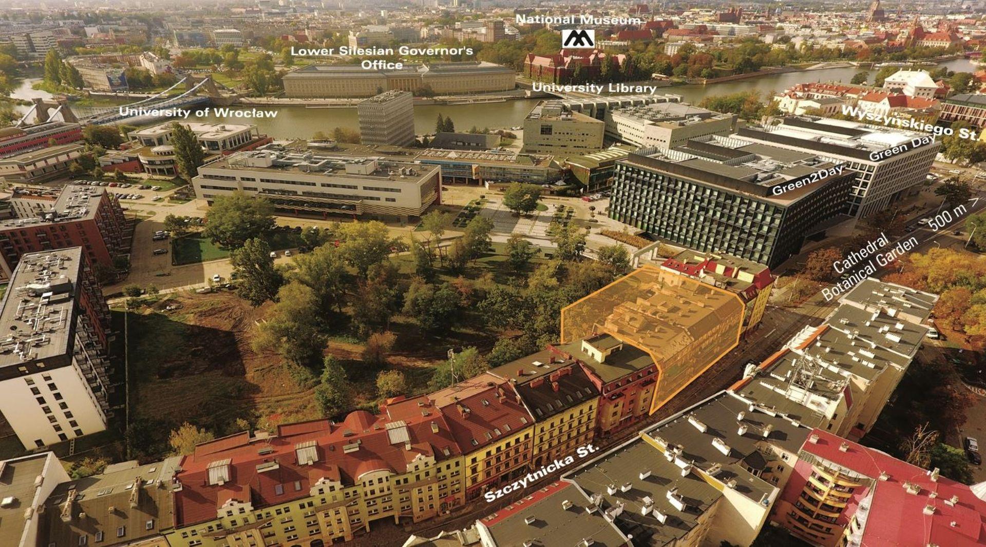 Miasto sprzeda przedwojenne kamienice w pobliżu Ostrowa Tumskiego i Placu Grunwaldzkiego