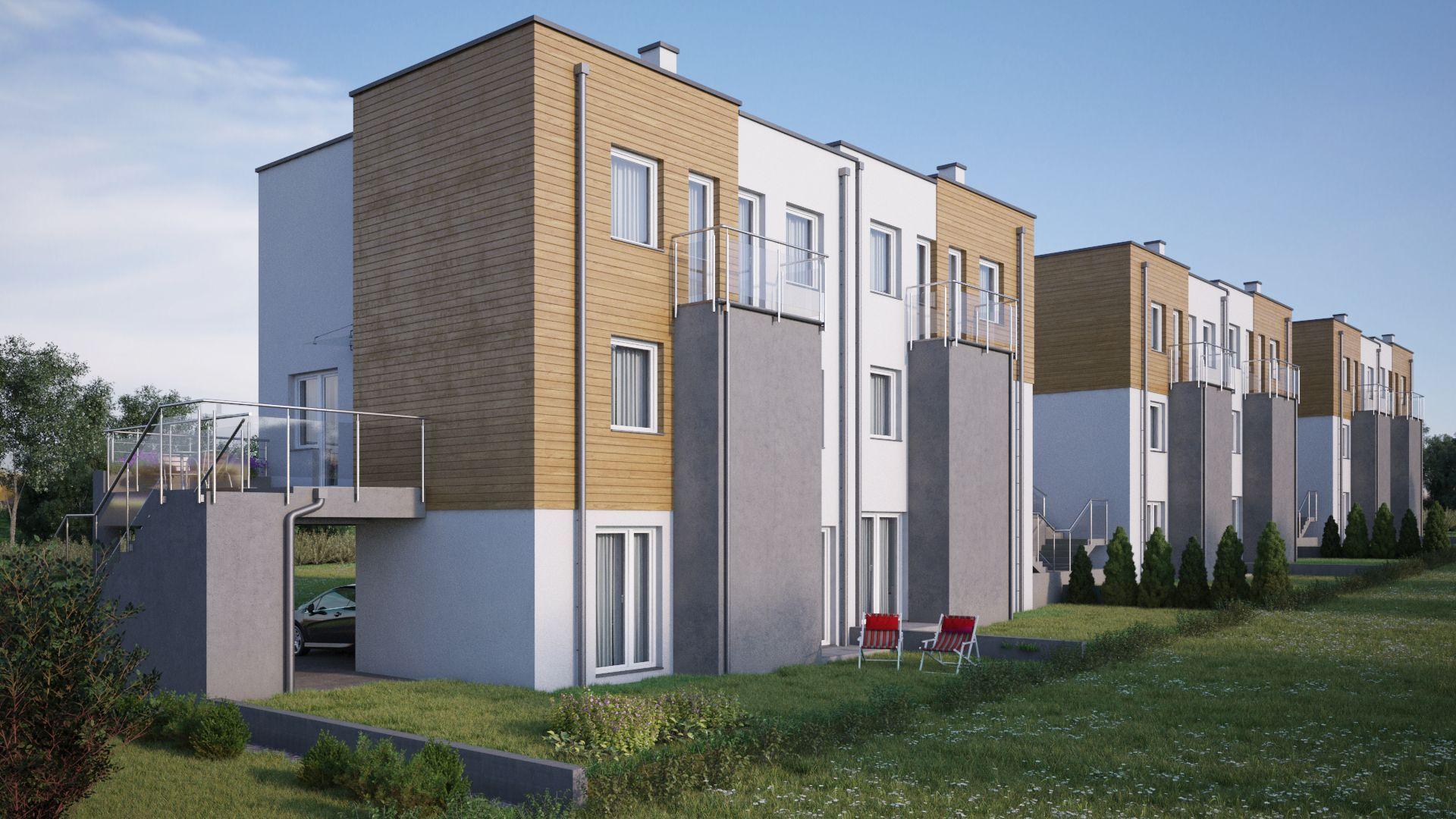 Kraków: Ogrody Prądnika – ruszyła budowa nowych, piętrowych apartamentów