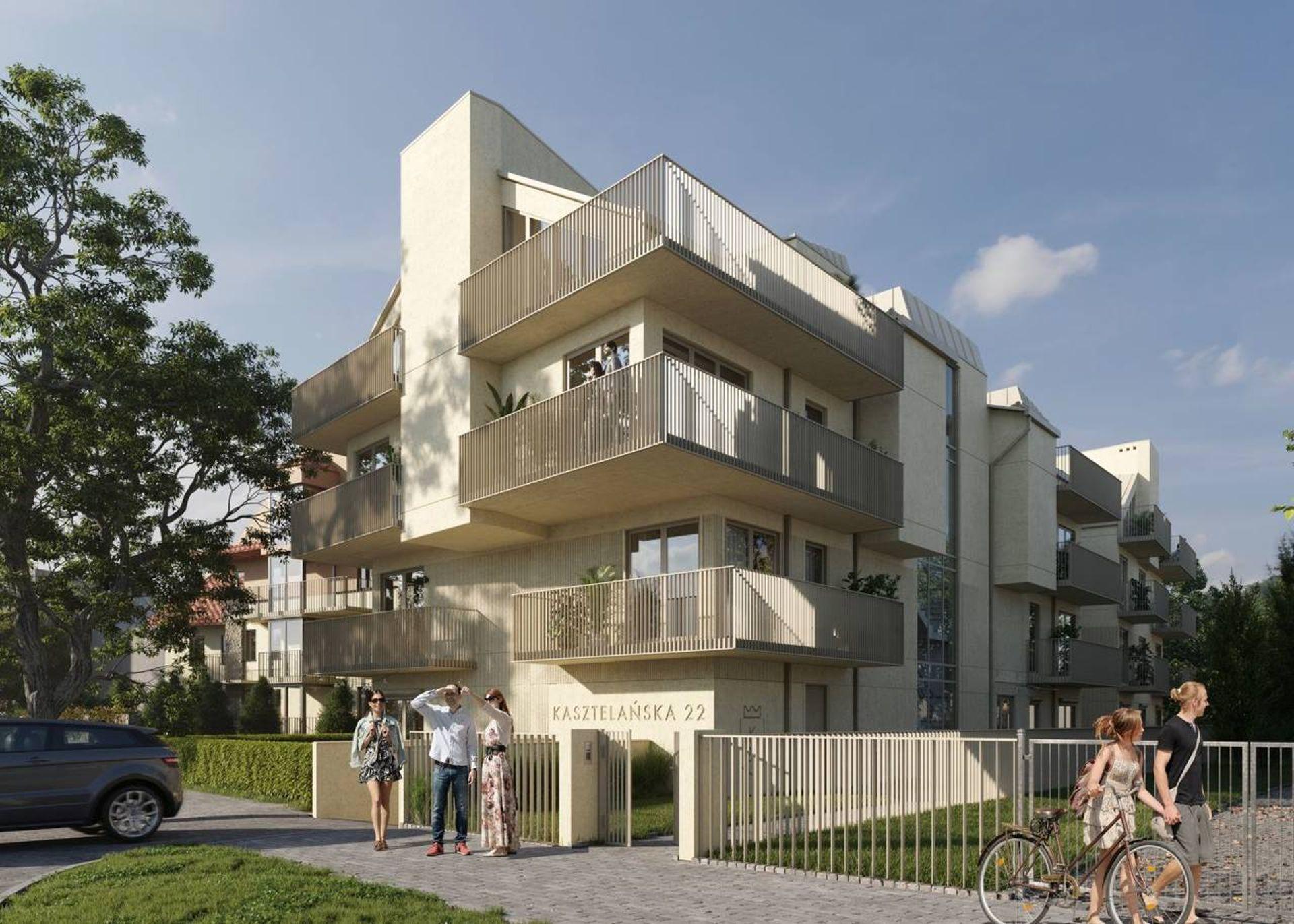 Kraków: Kasztelańska 22 – Urba postawi apartamentowiec na Salwatorze