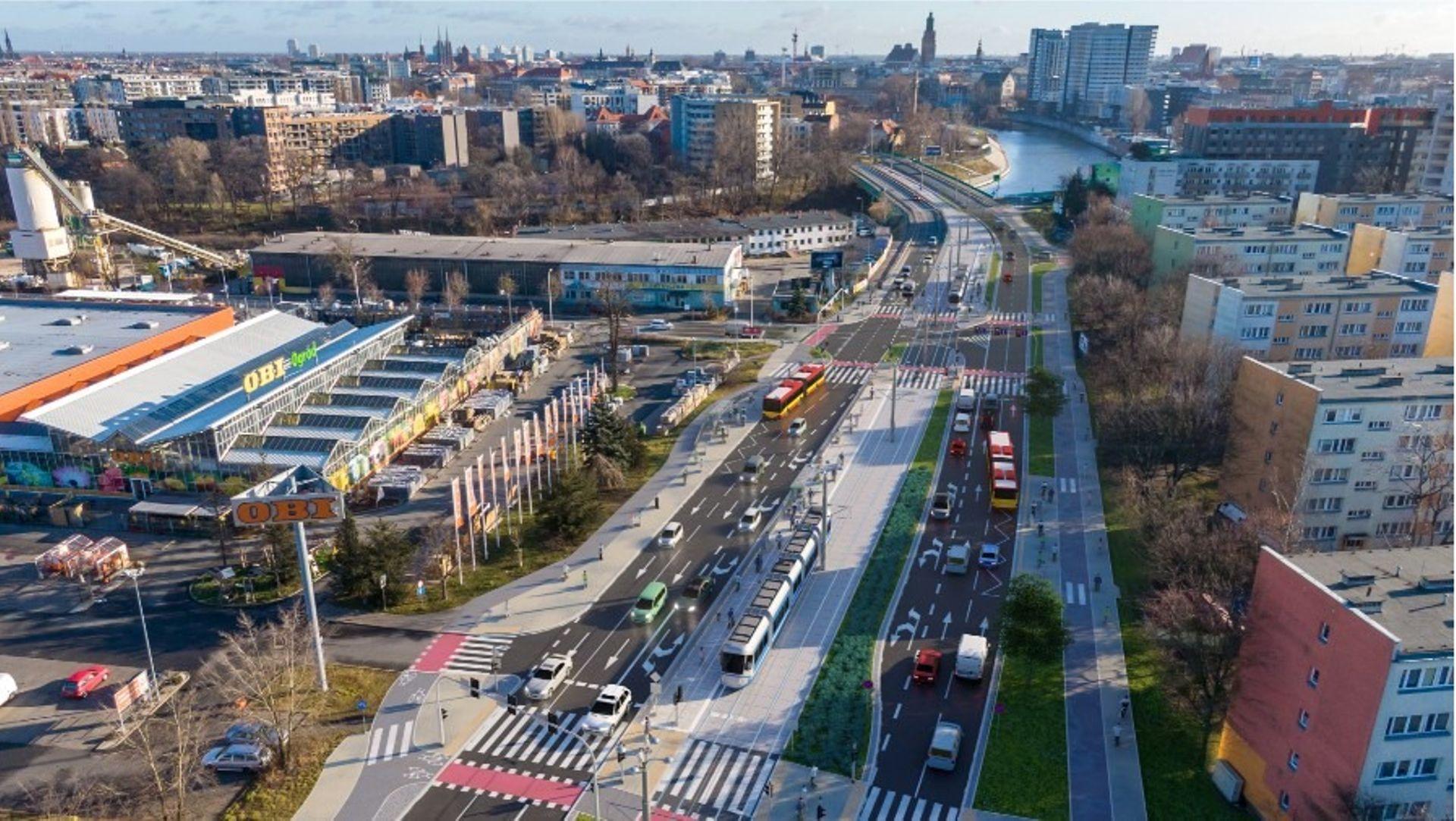 Wrocław: Z opóźnieniem, ale jest. Przetarg na drugi etap trasy tramwajowej przez Popowice ogłoszony