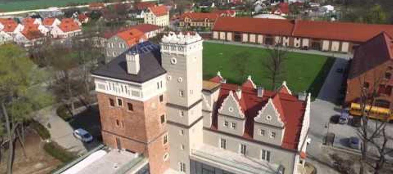 Zamek Topacz z lotu