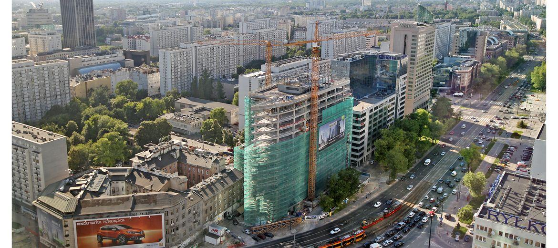 Atrium 1 Jedyny W Tym Roku Nowy Biurowiec W Centrum Warszawy