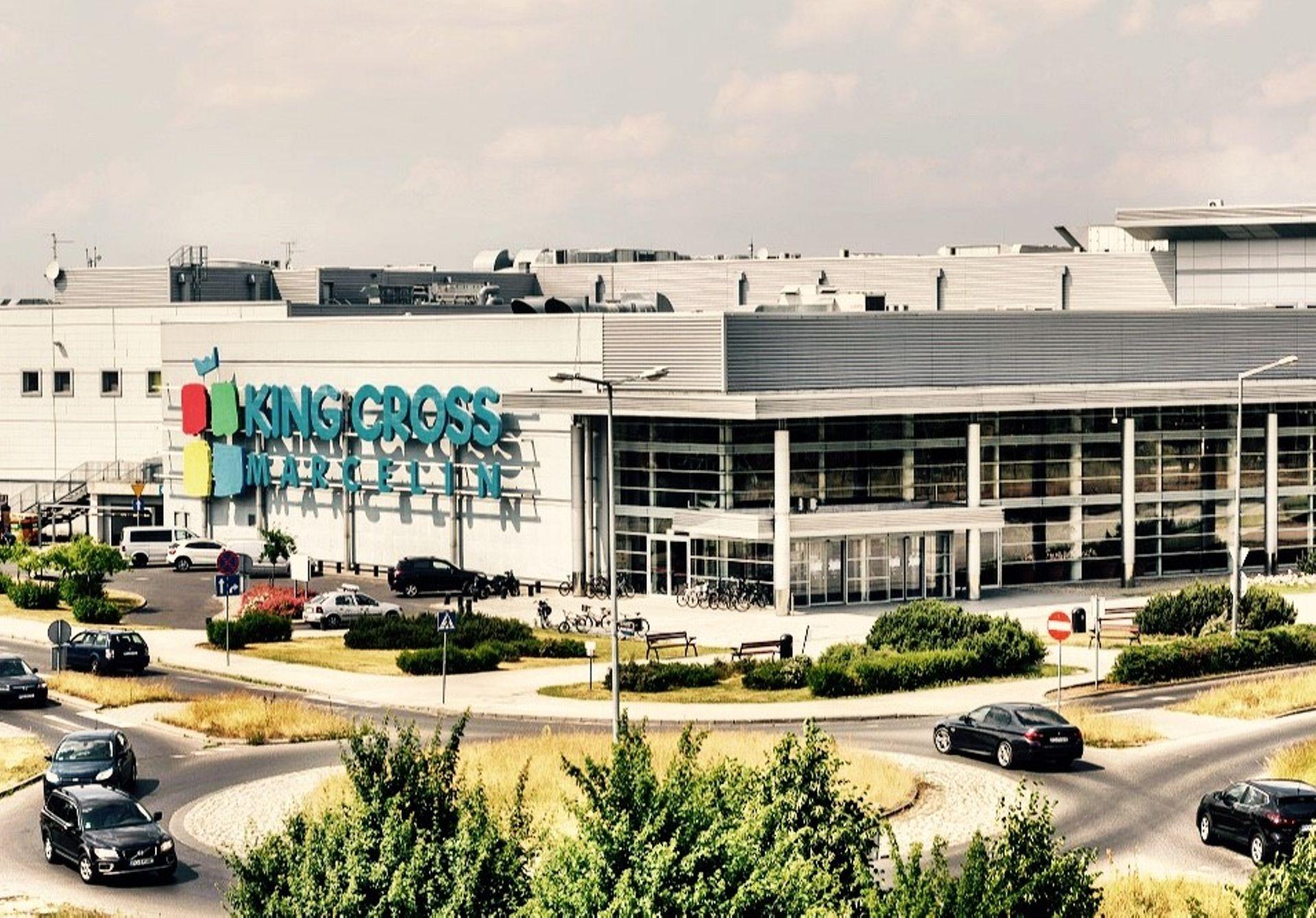 [Poznań] Centrum handlowe King Cross Marcelin w Poznaniu sprzedane