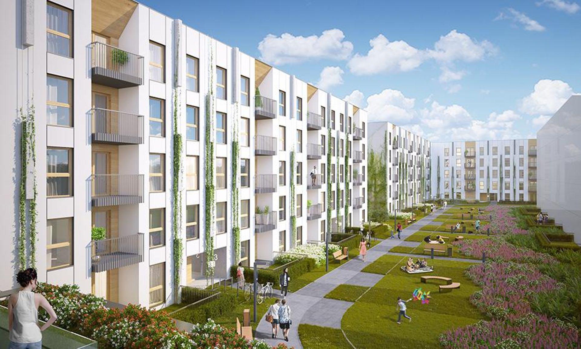 Kraków: Solaris Park – Semaco zbuduje setki mieszkań tuż przy parku Lotników Polskich