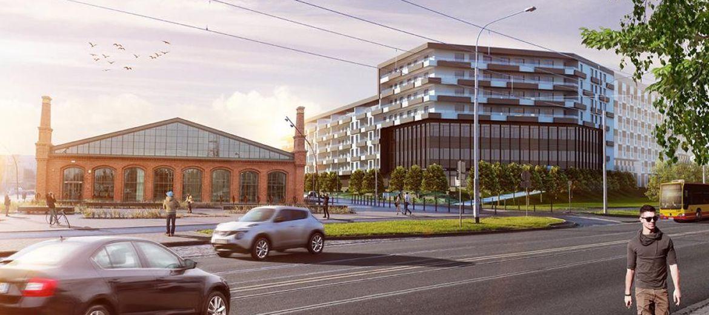 Nowe mieszkania na terenie