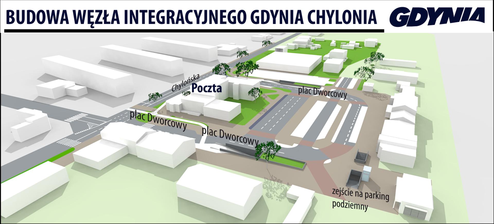 [Trójmiasto] Budowa węzła integracyjnego w Gdyni-Chyloni weszła w kolejną fazę