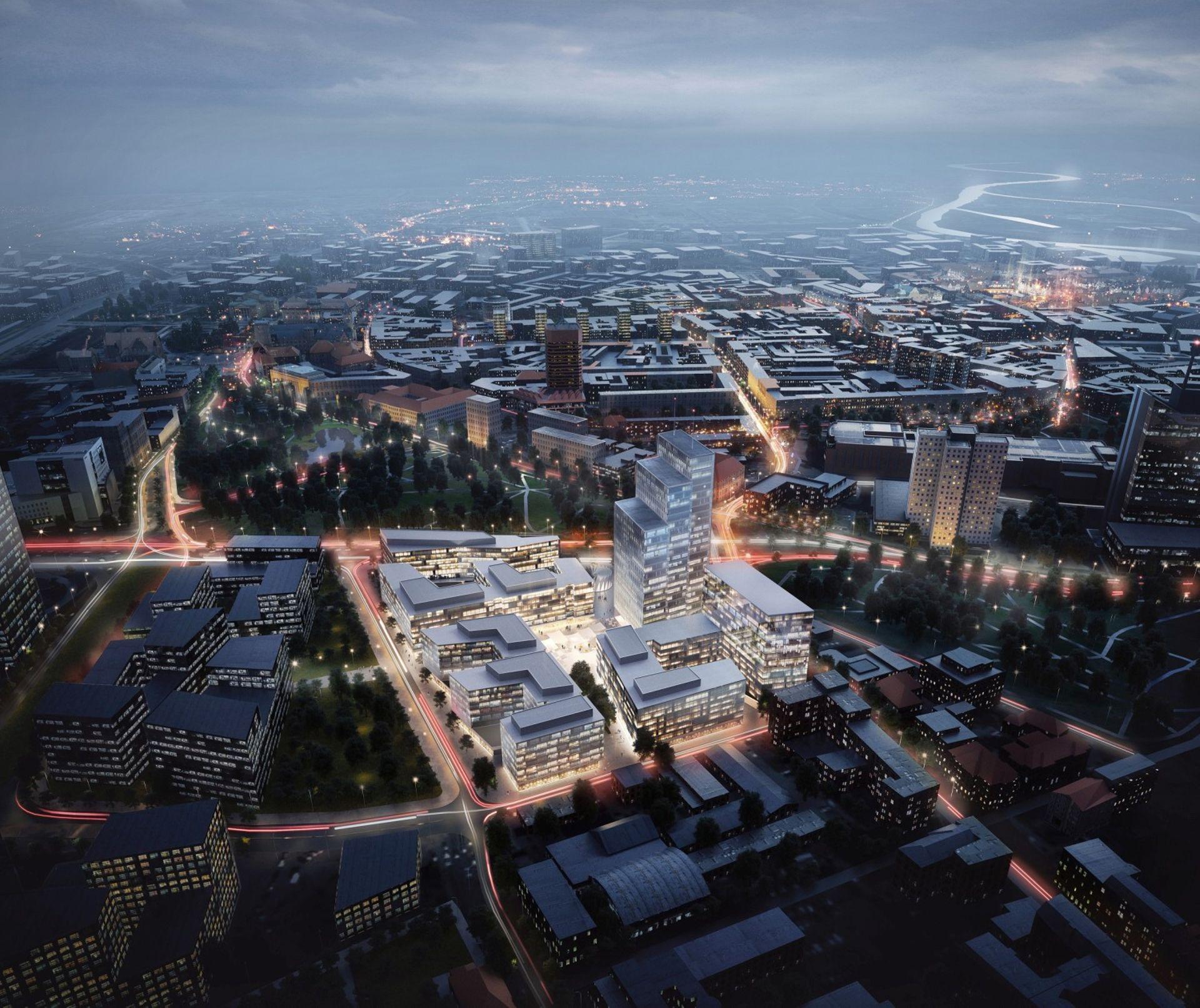 Poznań: Skanska rozpoczęła budowę trzeciego biurowca kompleksu Nowy Rynek