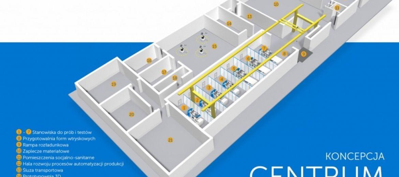 Wizualizacja nowego Centrum Badawczo-Rozwojowego firmy Dopak we Wrocławiu (źródło: materiały inwestora)