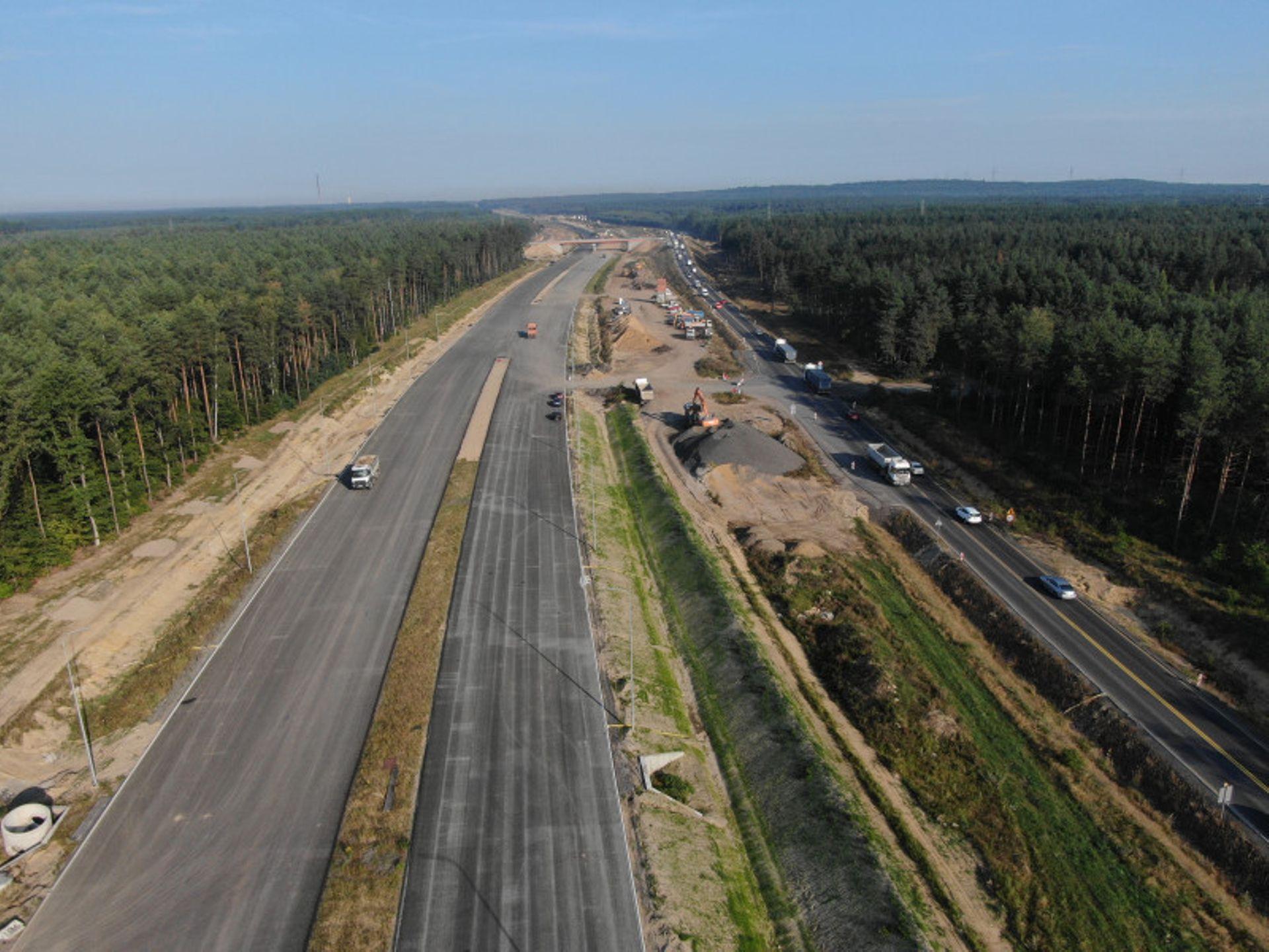 Opóźnienia na budowie brakującego odcinka trasy ekspresowej S3 z Lubina do Polkowic
