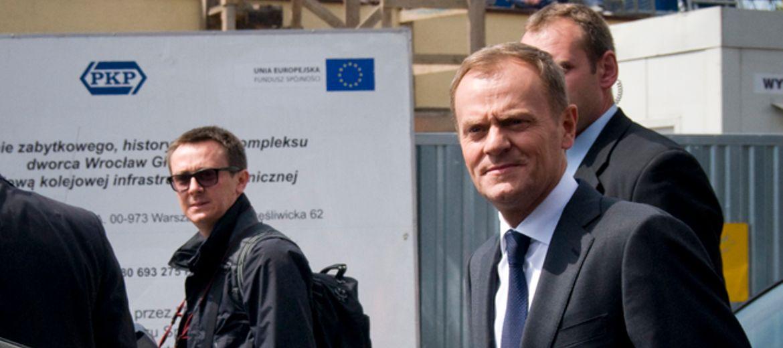 Donald Tusk we Wrocławiu: