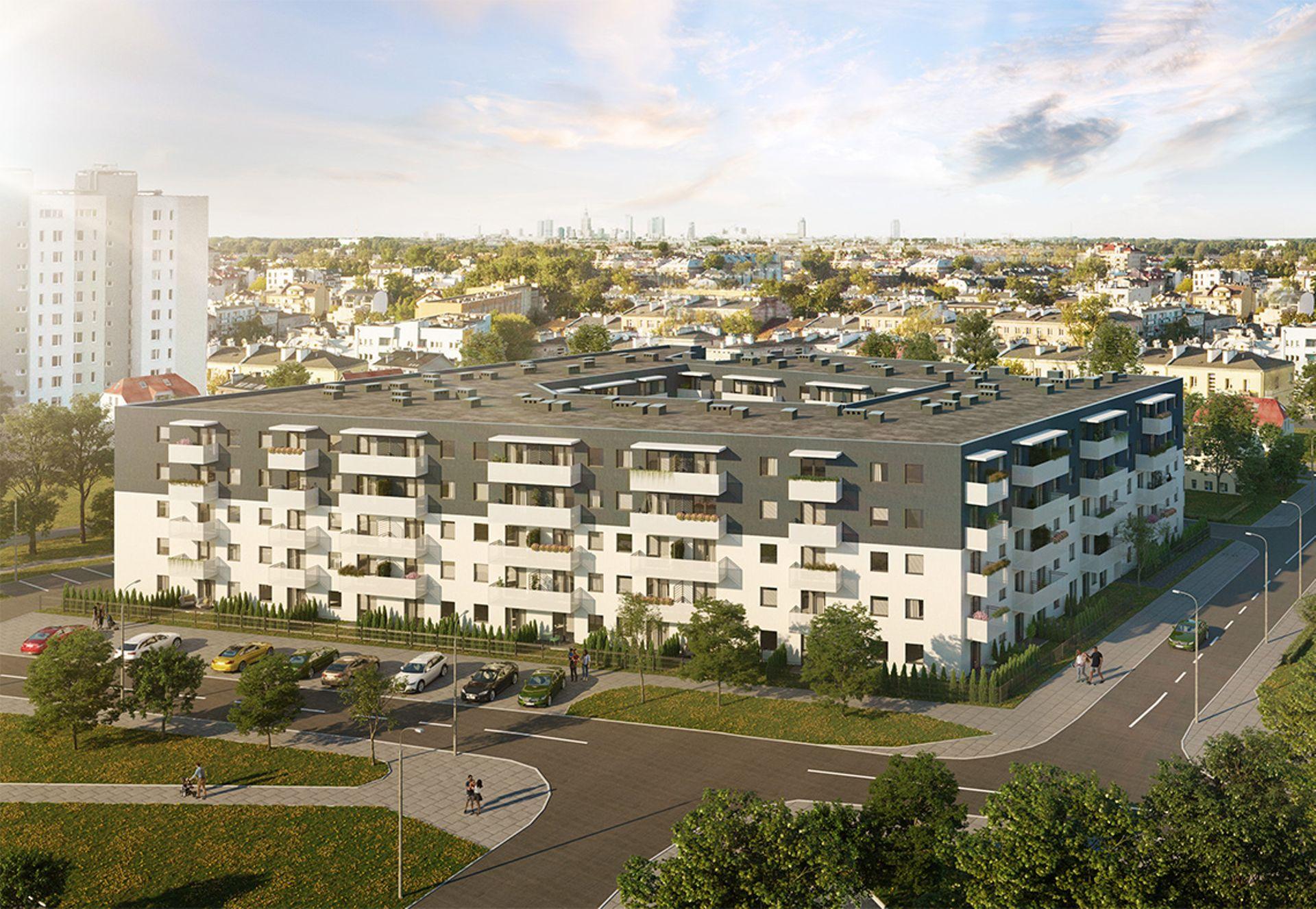 Warszawa: Apartamenty Praskie – Murapol buduje prawie 300 lokali pod wynajem