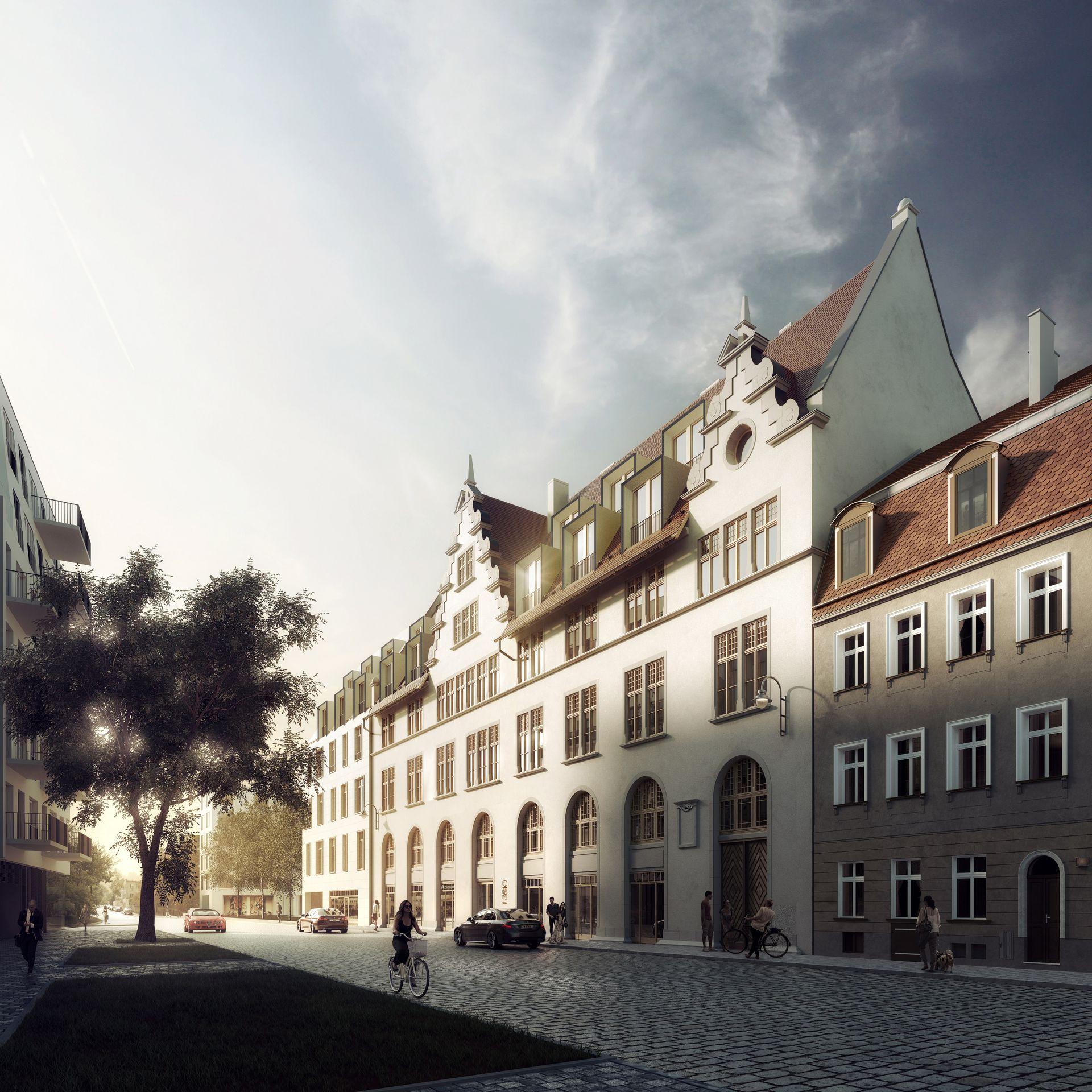 Wrocław: Okre Development rusza wkrótce z rewitalizacją zabytkowego urzędu celnego [NOWE WIZUALIZACJE]